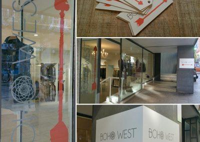 Impresión de vinilo, rótulos y etiquetas para Boho west