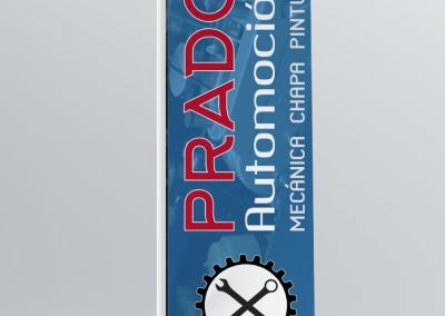 Banderola Prado Automoción