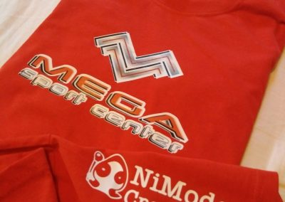 Camiseta Carrera Mega Sport Center