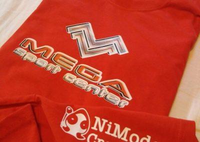 Camiseta Carrera Mega Sport Center