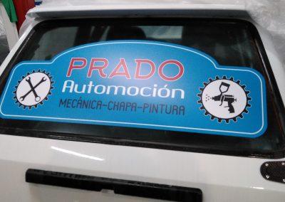 Vinilo Carreras Prado Automoción
