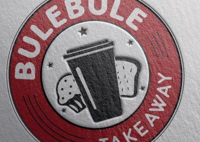 Logotipo Bulebule Takeaway