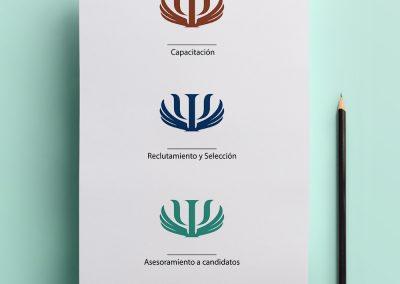 Logotipo para Amos Partner