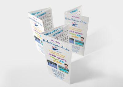Diseño e impresión de Trípticos
