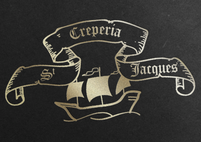 Logotipo para Crepería St Jacques