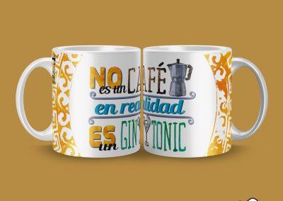 Taza No es un café