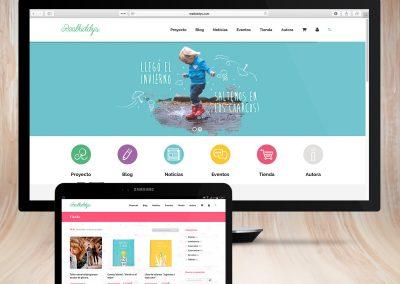 Diseño de web para Realkiddys
